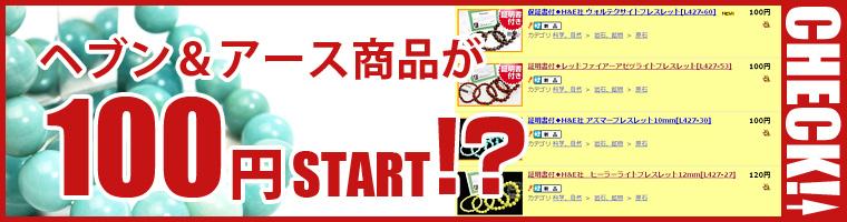 ヘブン&アース社100円スタートオークション